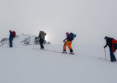Ski Touring Clinic Efficiency